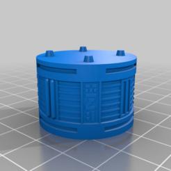 Descargar archivos 3D gratis GreebleCity Cyberpunk: Gran Tronco II, Fisk400