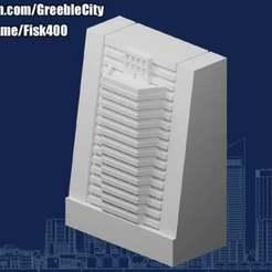 20201210.jpg Télécharger fichier STL gratuit GreebleCity Cyberpunk : Variante murale • Objet pour impression 3D, Fisk400