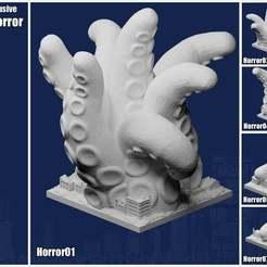 OctobertExclusiveCover.jpg Télécharger fichier STL gratuit Greeblecity : Exclusivité Patreon d'octobre • Design à imprimer en 3D, Fisk400