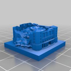 20201221.png Télécharger fichier STL gratuit Ruines de GreebleCity : Théâtre en ruines • Plan pour imprimante 3D, Fisk400