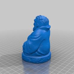 Descargar Modelos 3D para imprimir gratis Buda Hulk, Fisk400