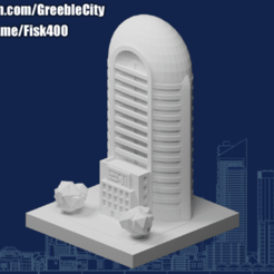 20201021.png Download free STL file GreebleCity: The Deo-Building • 3D printable template, Fisk400