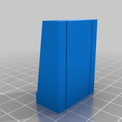 20201010Straight.png Download free STL file GreebleCity Cyberpunk: Wall 2.0 • 3D printable design, Fisk400
