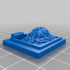 20201025.png Download free STL file GreebleCity: Garbage Dump • 3D printing template, Fisk400