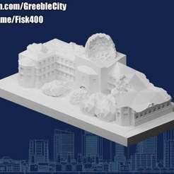 20201207.jpg Télécharger fichier STL gratuit Ruines de GreebleCity : L'histoire perdue • Design à imprimer en 3D, Fisk400