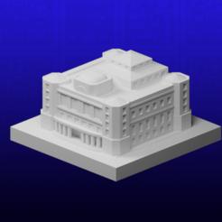 Theater.png Télécharger fichier STL gratuit GreebleCity : Théâtre • Modèle pour imprimante 3D, Fisk400
