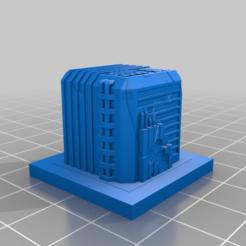 20210104.png Télécharger fichier STL gratuit Ruines de GreebleCity : Cube fissuré • Objet à imprimer en 3D, Fisk400
