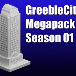 Download free 3D printing files GreebleCity Season 1 Megapack, Fisk400