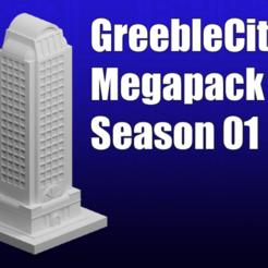 Descargar Modelos 3D para imprimir gratis GreebleCity Temporada 1 Megapack, Fisk400
