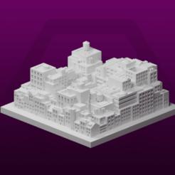 TheHeaps.png Télécharger fichier STL gratuit GreebleCity Cyberpunk : les tas • Plan pour impression 3D, Fisk400