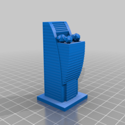 20200825.png Download free STL file GreebleCity: tree balcony • 3D printer model, Fisk400
