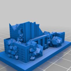 20201228.png Télécharger fichier STL gratuit Ruines de GreebleCity : A bas les jeux d'argent • Plan à imprimer en 3D, Fisk400