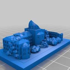 20201207.png Télécharger fichier STL gratuit Ruines de GreebleCity : L'histoire perdue • Design à imprimer en 3D, Fisk400