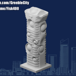 20201009.png Download free STL file GreebleCity: A Normal Building • 3D printable template, Fisk400