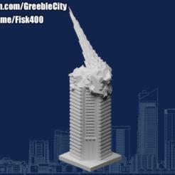 20201002.png Download free STL file GreebleCity: Meteor Strike • 3D printer template, Fisk400
