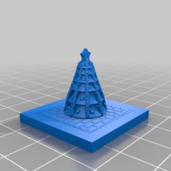 20201214.png Télécharger fichier STL gratuit GreebleCity : Arbre de Noël de Prudence • Design pour impression 3D, Fisk400