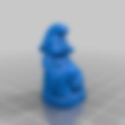 Download free 3D printer designs Smurf Buddha, Fisk400