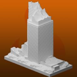 Impresiones 3D gratis Ruinas de GreebleCity: Rascacielos VII, Fisk400
