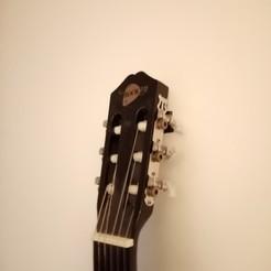 Descargar modelo 3D gratis Gancho de pared para guitarra, milwio