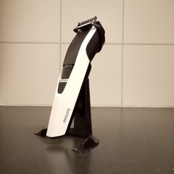 Download free 3D printer designs Philips beard trimmer stand, milwio