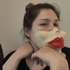 IMG_20200910_003223.jpg Download GCODE file Lady's Mouth • 3D print design, lucasduva
