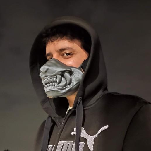 Download 3D printer templates Dog muzzle mask, lucasduva