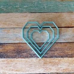 103.jpg Télécharger fichier STL Kit d'emporte-pièces en forme de coeur - Set d'emporte-pièces en forme de coeur 02 • Objet à imprimer en 3D, quinteroslg