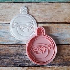 CSBN-004.jpg Télécharger fichier STL Coupeur et timbre de Noël - Coupeur et timbre boules de Noël 04 • Plan pour imprimante 3D, quinteroslg