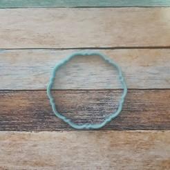 Impresiones 3D Label cutter - Cortantes etiquetas Cuadradas 09, quinteroslg