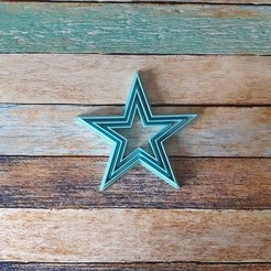 100.jpg Télécharger fichier STL Kit coupe-biscuits étoiles - Set coupe-biscuits étoiles 01 • Plan pour impression 3D, quinteroslg