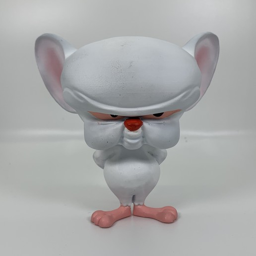 Download STL Brain from Pinky and the Brain, iiinsaiii