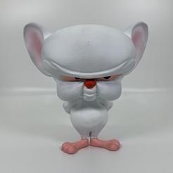 Télécharger fichier impression 3D Cerveau de Pinky and the Brain, iiinsaiii