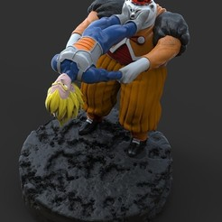 Download 3D printing models Vegeta vs Android 19, iiinsaiii