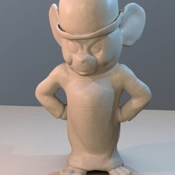 Download 3D printer files Jerry Muscle Mouse, iiinsaiii