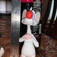 Télécharger plan imprimante 3D Pinky de Pinky et le cerveau, iiinsaiii