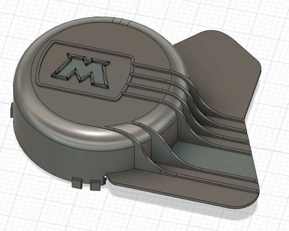 Capture ECRAN.JPG Télécharger fichier STL gratuit cache embrayage MBK 51 • Modèle pour imprimante 3D, Simonchantcliquet