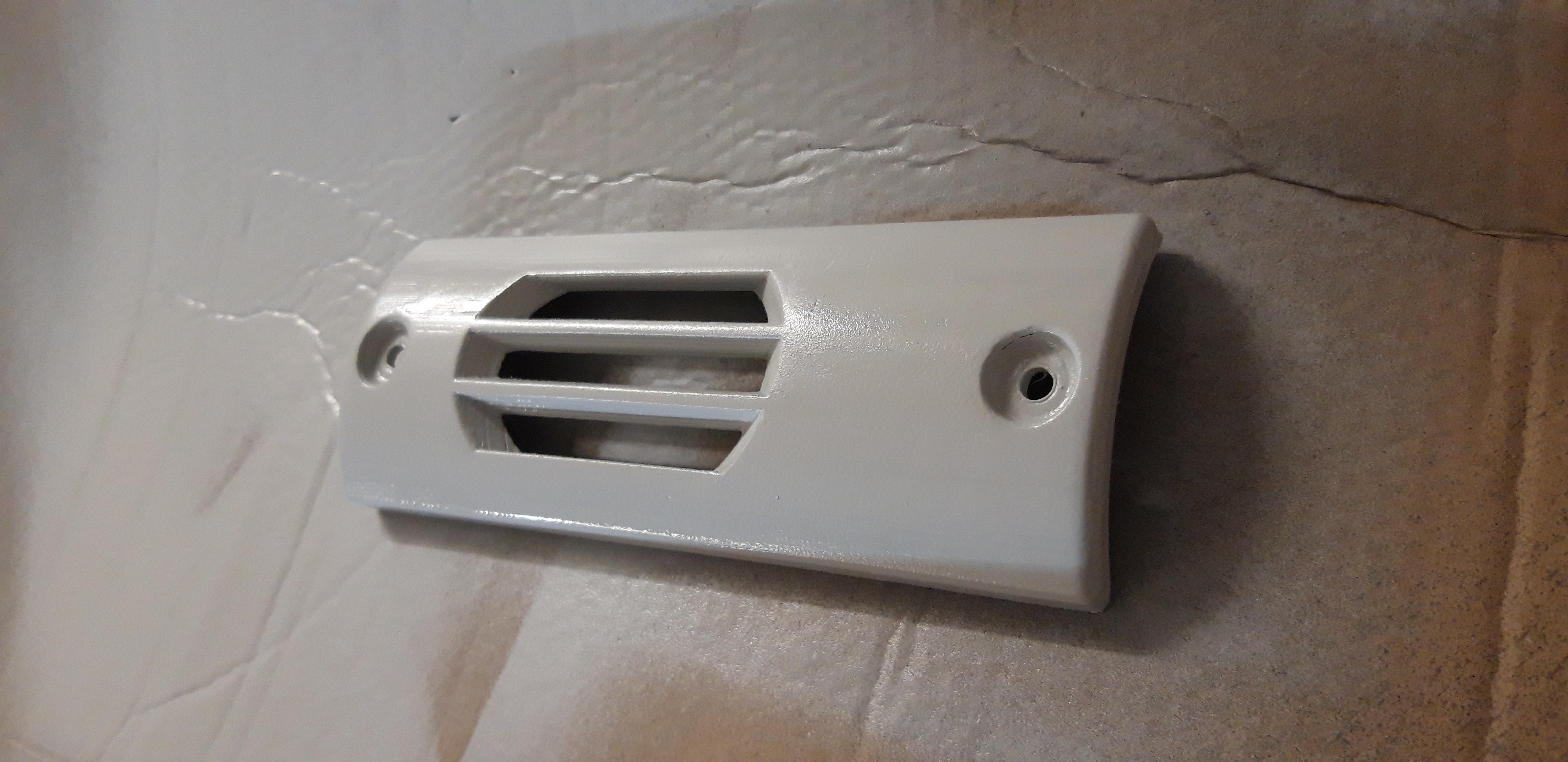 20200422_004316.jpg Download free STL file EXHAUST POT PLATE Booster Exhaust Plate • 3D printing object, Simonchantcliquet