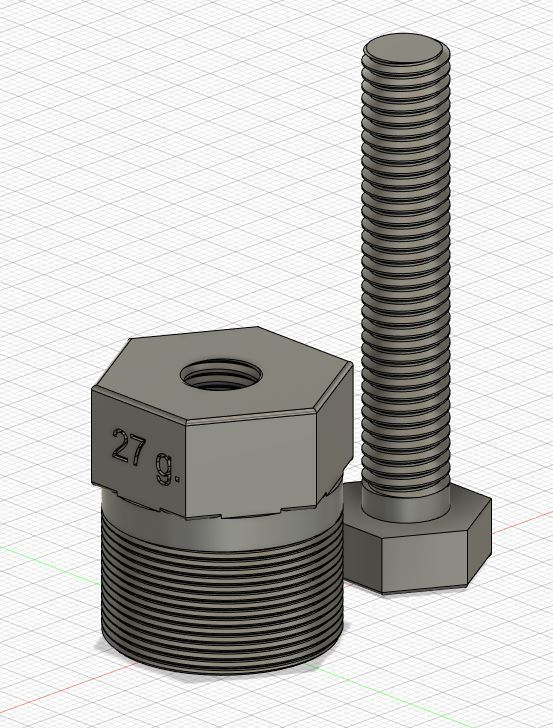 image arrache volant booster.JPG Download free STL file Flying puller - diameter 27g for booster ignition • 3D print object, Simonchantcliquet