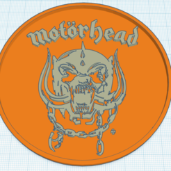 Download free 3D printing models Motörhead coaster, jantsapeip