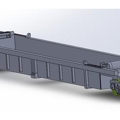 US-stack.jpg Download STL file TRAIN: 48' double-stack US car (single unit) • 3D printing model, Mr_B
