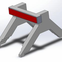 butoir.png Télécharger fichier STL gratuit TRAIN : butoir HO 1:87  • Objet imprimable en 3D, Mr_B
