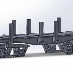 W-ran-sider.jpg Télécharger fichier STL TRAIN : Wagon Rancher Lourd  HO 1:87  • Objet imprimable en 3D, Mr_B