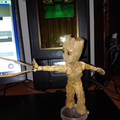 Descargar archivo 3D Baby Groot  groot , groot, edwardgarces