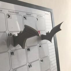 bat.jpg Télécharger fichier STL Les aimants des Batarangs • Modèle pour impression 3D, KANA_CREATORS