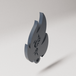Download STL file Key ring, D3DLouis