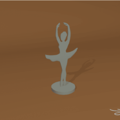 Descargar archivo 3D gratis Bailarina, D3DLouis