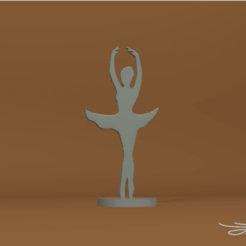 Download free STL Dancer, D3DLouis