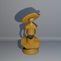 Download 3D model Woman without a Face, D3D_Louis