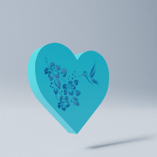 Imprimir en 3D gratis Corazon, D3DLouis