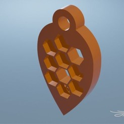 Download STL file Key ring, D3D_Louis